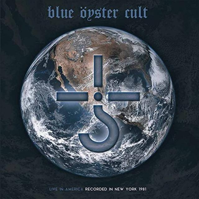 Blue Oyster Cult LIVE IN AMERICA Vinyl Record