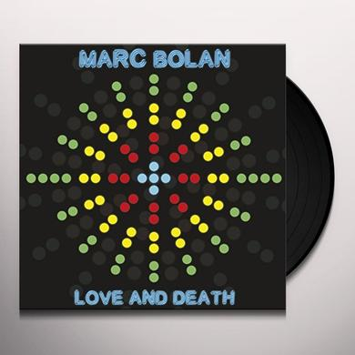 Marc Bolan LOVE AND DEATH Vinyl Record
