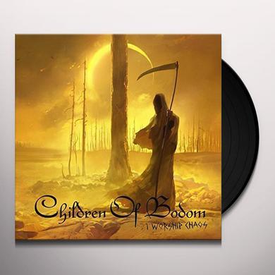 Children Of Bodom I WORSHIP CHAOS Vinyl Record - Gatefold Sleeve, Limited Edition