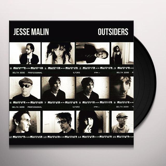 Jesse Malin OUTSIDERS Vinyl Record