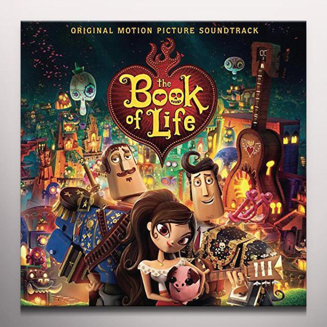 GUSTAVO SANTAOLALLA BOOK OF LIFE (MUSIC FROM THE MOTION PICTURE) Vinyl Record