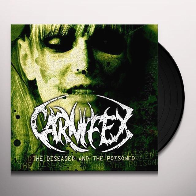 Carnifex DISEASED & THE POISONED Vinyl Record