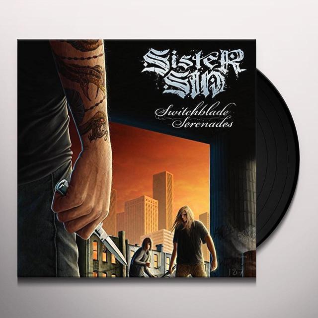 Sister Sin SWITCHBLADE SERENADES Vinyl Record
