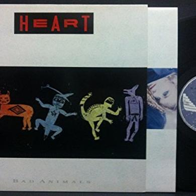 Heart BAD ANIMALS Vinyl Record