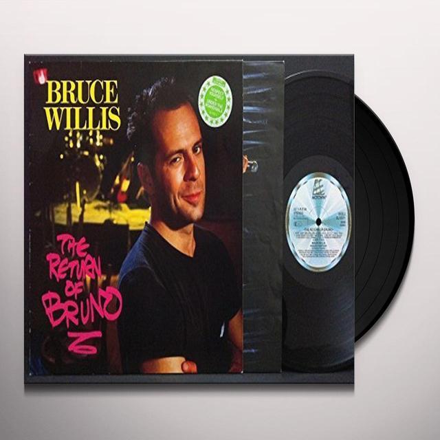 Bruce Willis RETURN OF BRUNO Vinyl Record