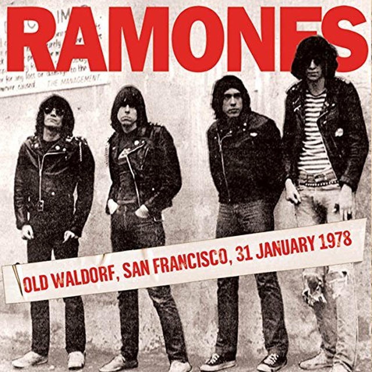 Ramones Old Waldorf San Francisco 31 January 1978 Vinyl Record