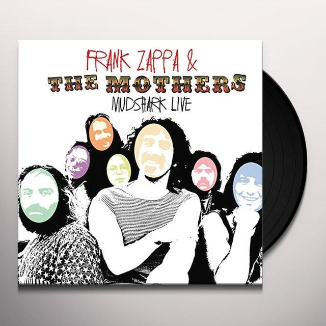 Frank Zappa and The Mothers MUDSHARK LIVE Vinyl Record