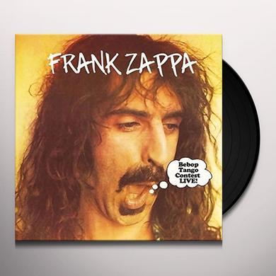 Frank Zappa BEBOP TANGO CONTEST LIVE Vinyl Record