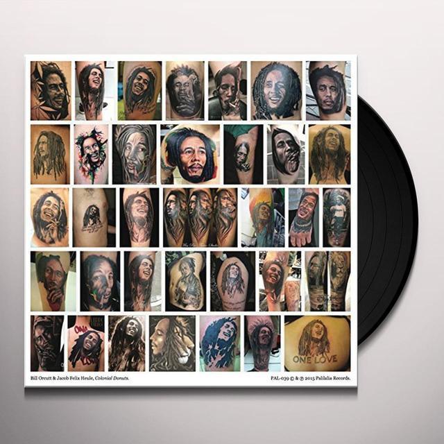 Bill Orcutt & Jacob Felix Heule COLONIAL DONUTS Vinyl Record