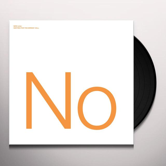 New Order WAITING FOR THE SIRENS CALL Vinyl Record - 180 Gram Pressing, Remastered