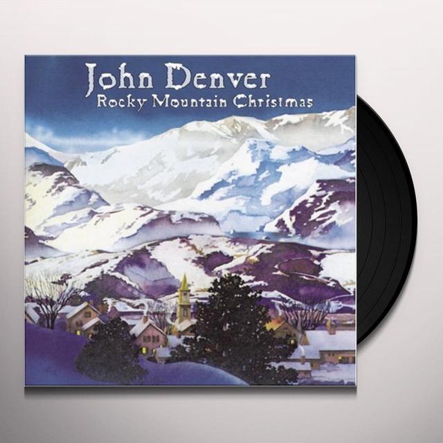 John Denver ROCKY MOUNTAIN CHRISTMAS Vinyl Record - Gatefold Sleeve, Limited Edition, 180 Gram Pressing