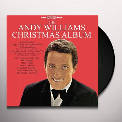 ANDY WILLIAMS CHRISTMAS ALBUM Vinyl Record