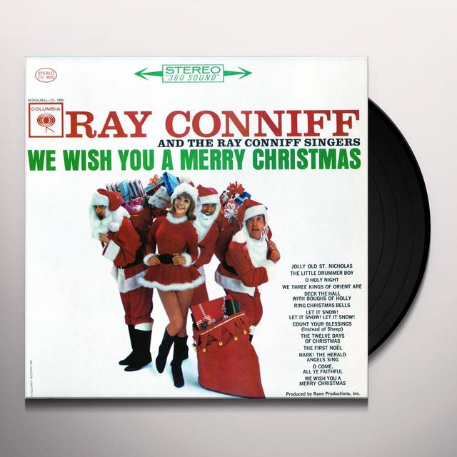 The Ray Conniff Singers WE WISH YOU A MERRY CHRISTMAS Vinyl Record - Gatefold Sleeve, Limited Edition, 180 Gram Pressing