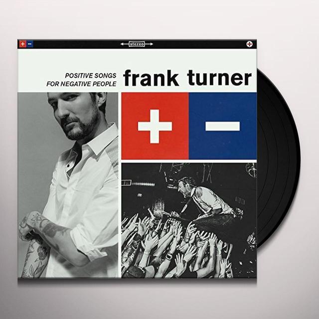 Frank Turner POSITIVE SONGS FOR NEGATIVE PEOPLE Vinyl Record - 180 Gram Pressing