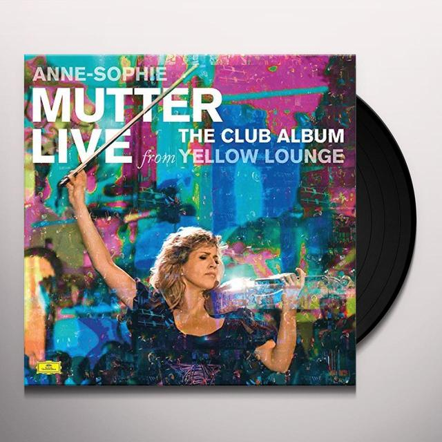Anne-Sophie Mutter CLUB ALBUM: LIVE FROM YELLOW LOUNGE Vinyl Record - UK Import