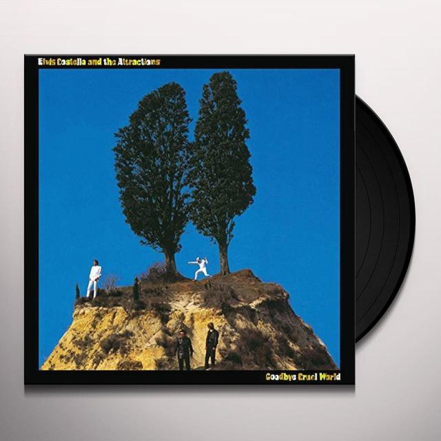 Elvis Costello GOODBYE CRUEL WORLD Vinyl Record - UK Release