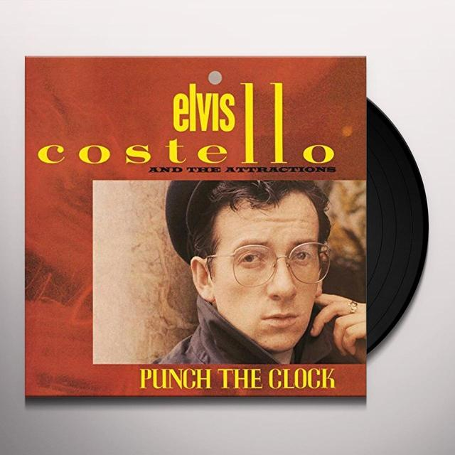 Elvis Costello PUNCH THE CLOCK Vinyl Record - UK Import