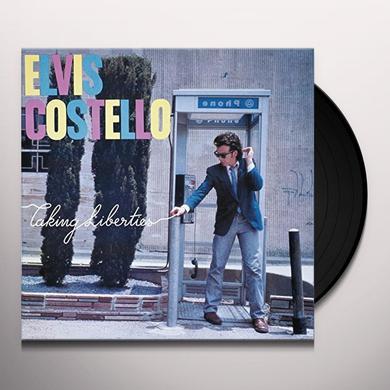 Elvis Costello TAKING LIBERTIES Vinyl Record - UK Import
