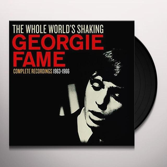 Georgie Fame WHOLE WORLD'S SHAKING Vinyl Record - UK Import