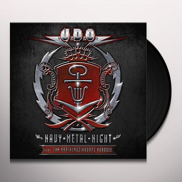 U.D.O. NAVY METAL NIGHT (GER) Vinyl Record
