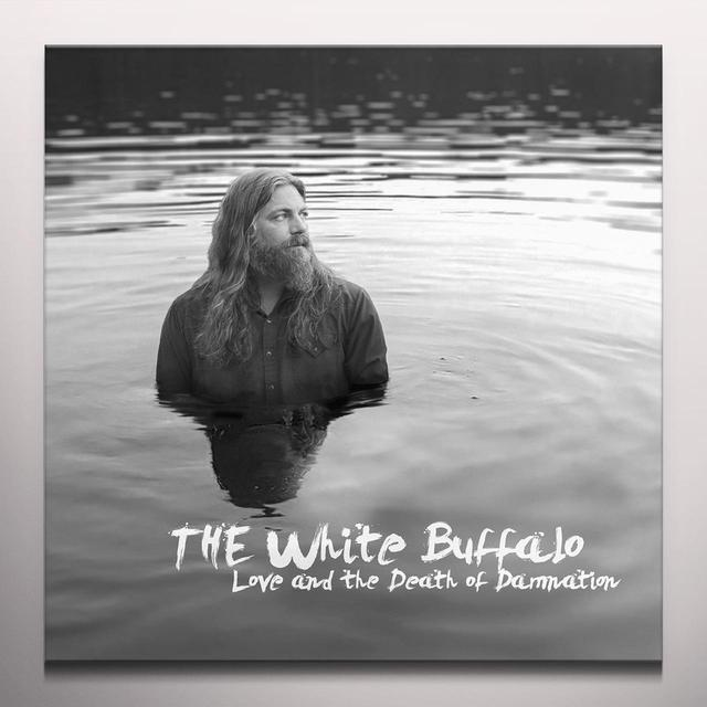 White Buffalo LOVE & THE DEATH OF DAMNATION Vinyl Record - Canada Import