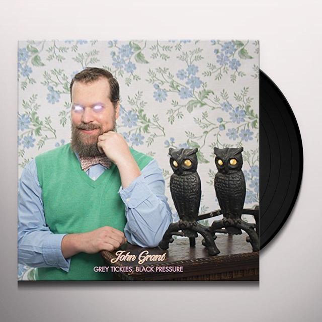 John Grant GREY TICKLES BLACK PRESSURE Vinyl Record - UK Import