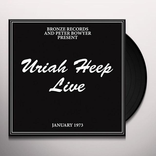 Uriah Heep LIVE Vinyl Record - UK Import
