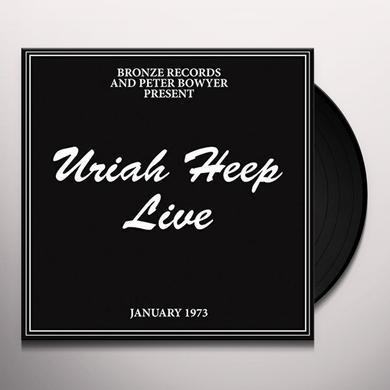 Uriah Heep LIVE Vinyl Record