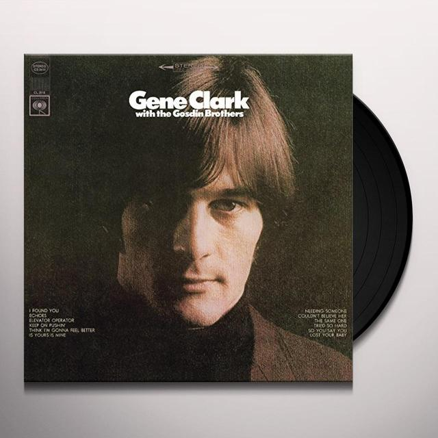 Gene Clark WITH THE GOSDIN BROTHERS Vinyl Record