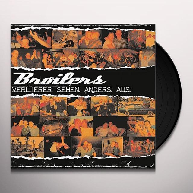 BROILERS VERLIERER SEHEN ANDERS AUS Vinyl Record - Holland Import