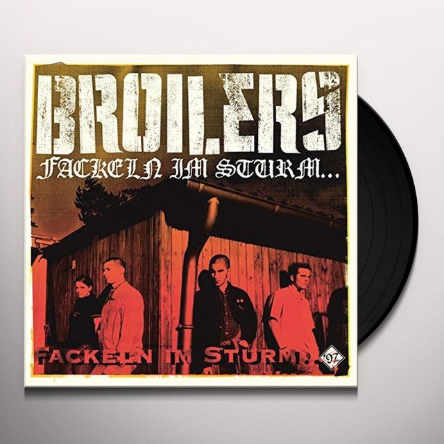 BROILERS FACKELN IM STURM Vinyl Record - Holland Release