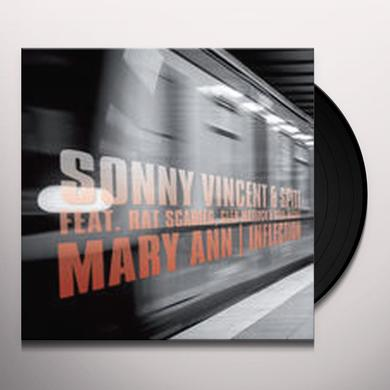 Sonny Vincent & Spite MARY ANN / INFLECTION Vinyl Record