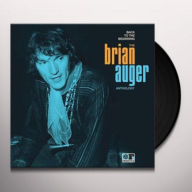 BACK TO THE BEGINNING: THE BRIAN AUGER ANTHOLOGY Vinyl Record