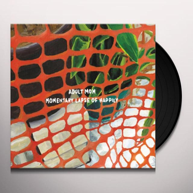 adult mom MOMENTARY LAPSE OF HAPPILY Vinyl Record - Black Vinyl, Digital Download Included