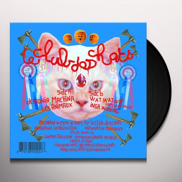 Le Club Des Chats WAT WAT WAT Vinyl Record - Picture Disc