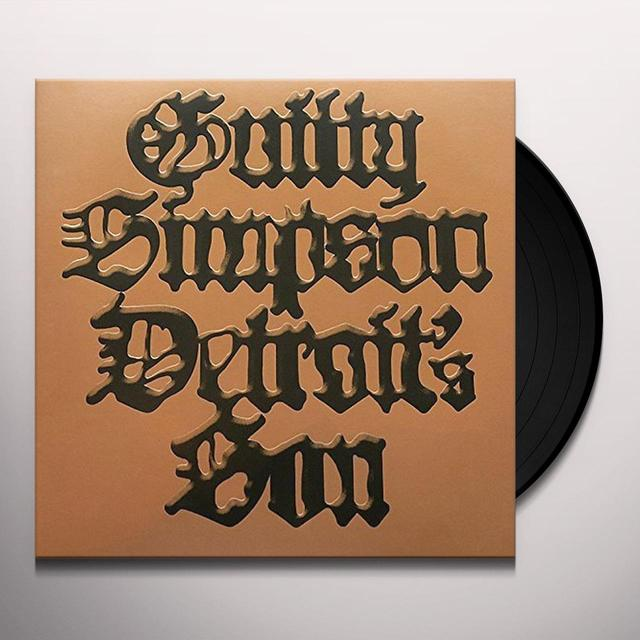 Guilty Simpson DETROIT'S SON Vinyl Record