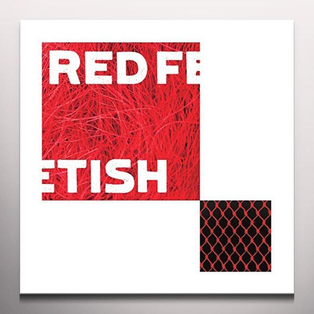 RED FETISH DERANGEMENT OF SYNAPSES Vinyl Record - Colored Vinyl, Limited Edition, 180 Gram Pressing, Red Vinyl