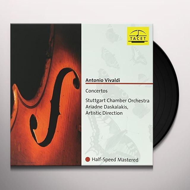 VIVALDI / STUTTGART CHAMBER ORCHESTRA / DASKALAKIS CONCERTOS Vinyl Record