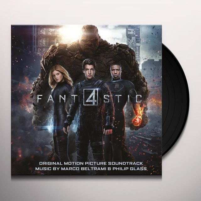 Marco Beltrami & Philip Glass FANTASTIC FOUR / O.S.T. Vinyl Record