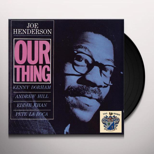 Joe Henderson OUR THING Vinyl Record