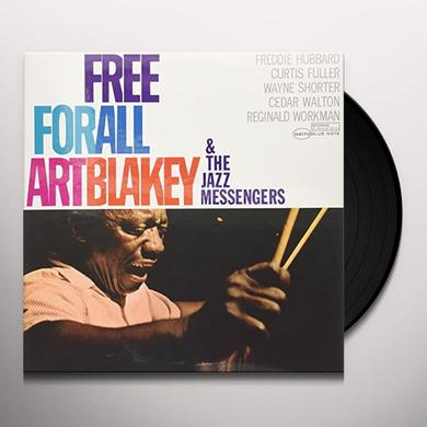 Art Blakey & The Jazz Messengers FREE FOR ALL Vinyl Record - Gatefold Sleeve, Limited Edition, 180 Gram Pressing, Remastered