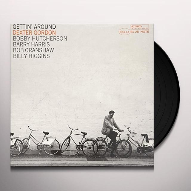 Dexter Gordon GETTIN AROUND Vinyl Record - Gatefold Sleeve, Limited Edition, 180 Gram Pressing, Remastered