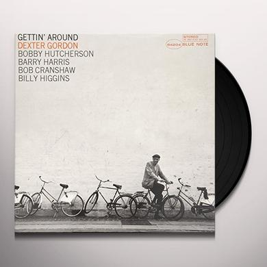 Dexter Gordon GETTIN AROUND Vinyl Record - Gatefold Sleeve, Limited Edition, 180 Gram Pressing, Remastered