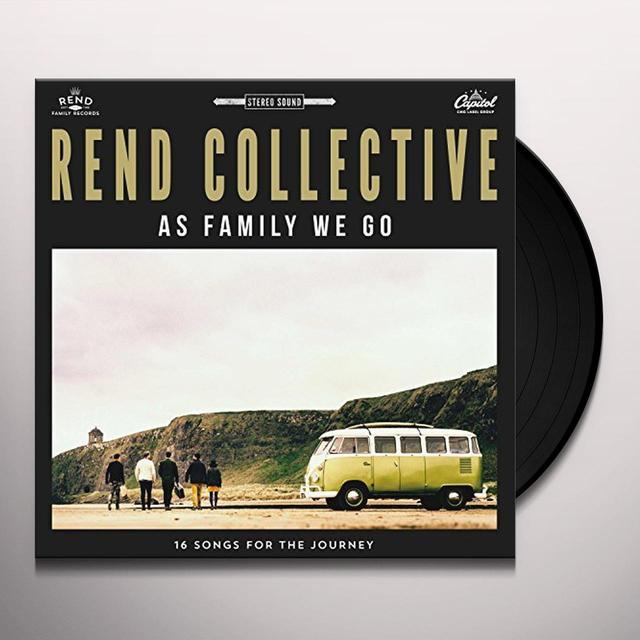 Rend Collective AS FAMILY WE GO Vinyl Record