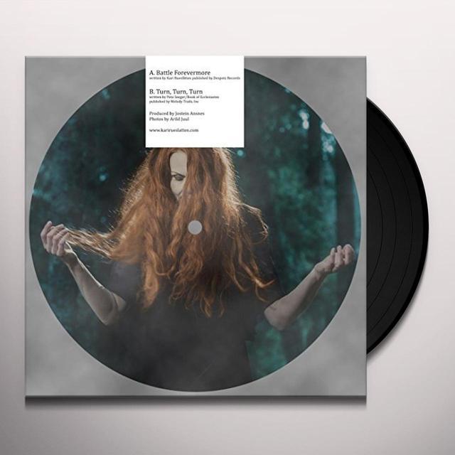 Kari Rueslatten BATTLE FOREVERMORE Vinyl Record - UK Import