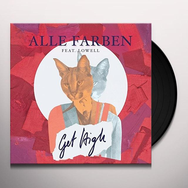 Alle Farben / Lowell GET HIGH  (GER) Vinyl Record - Picture Disc