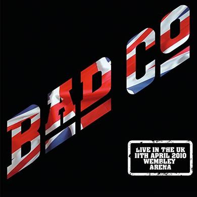 Bad Company LIVE IN THE UK 2010 Vinyl Record - UK Import