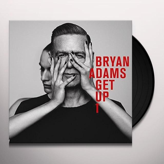 Bryan Adams GET UP Vinyl Record - UK Import