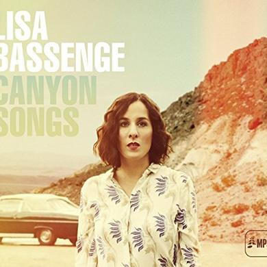 Lisa Basseng CANYON SONGS Vinyl Record - UK Release