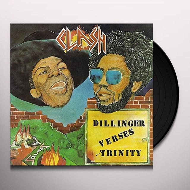 DILLINGER VERSES TRINITY CLASH Vinyl Record - UK Import